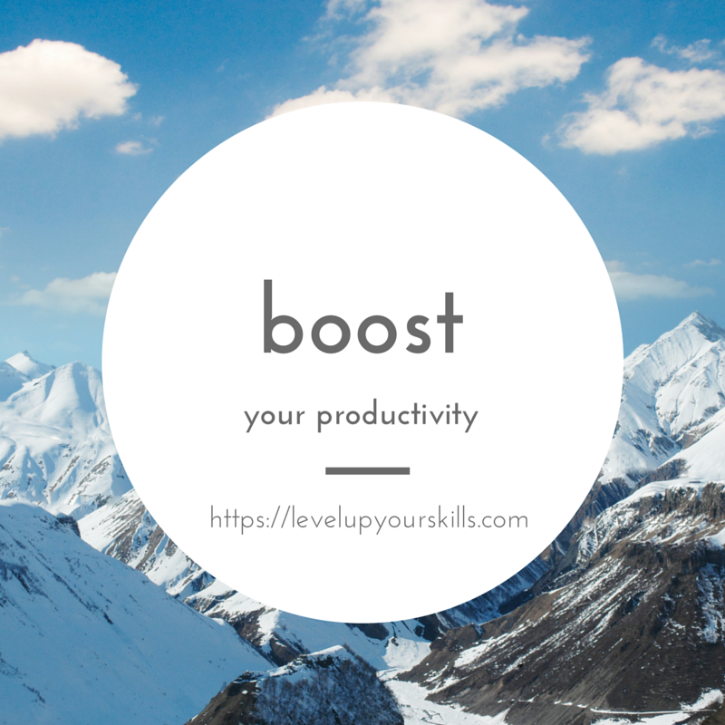 These Are Awesome Times to Boost Productivity