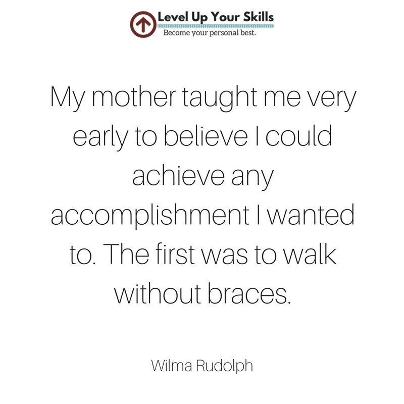Wilma Rudolph Learned from Her Mother Not to Accept Limits