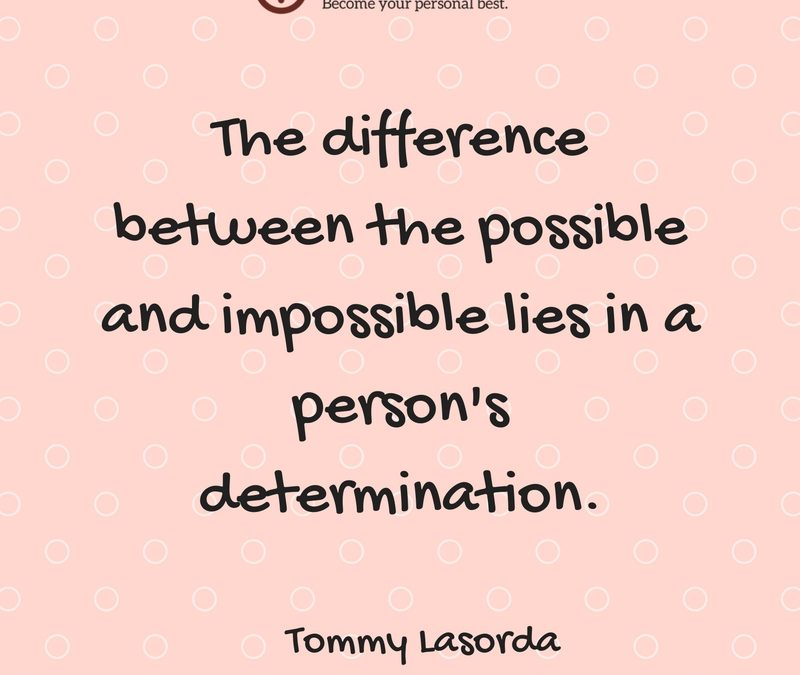 The Difference Between the Possible and the Impossible